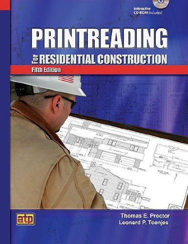 By Thomas E. Proctor - Printreading for Residential Construction (5 Pap/Cdr) (5/31/10)
