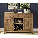 dining room buffet Crosley Furniture Roots Buffet Dining Room Storage - Natural