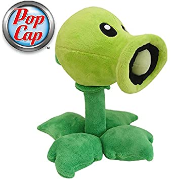 Plants vs. Zombies * Peluche Figura Peashooter 15cm - original & official licensed