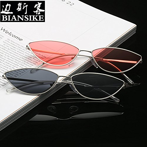 BEESCLOVER Women Fashion Small Frame Cat Eye Sunglasses UV400 Outdoor Sports Glasses