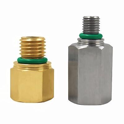 Pressure Oil Rail Adapters Leak Test Kit for Ford 6.0L Powerstroke Diesel: Automotive