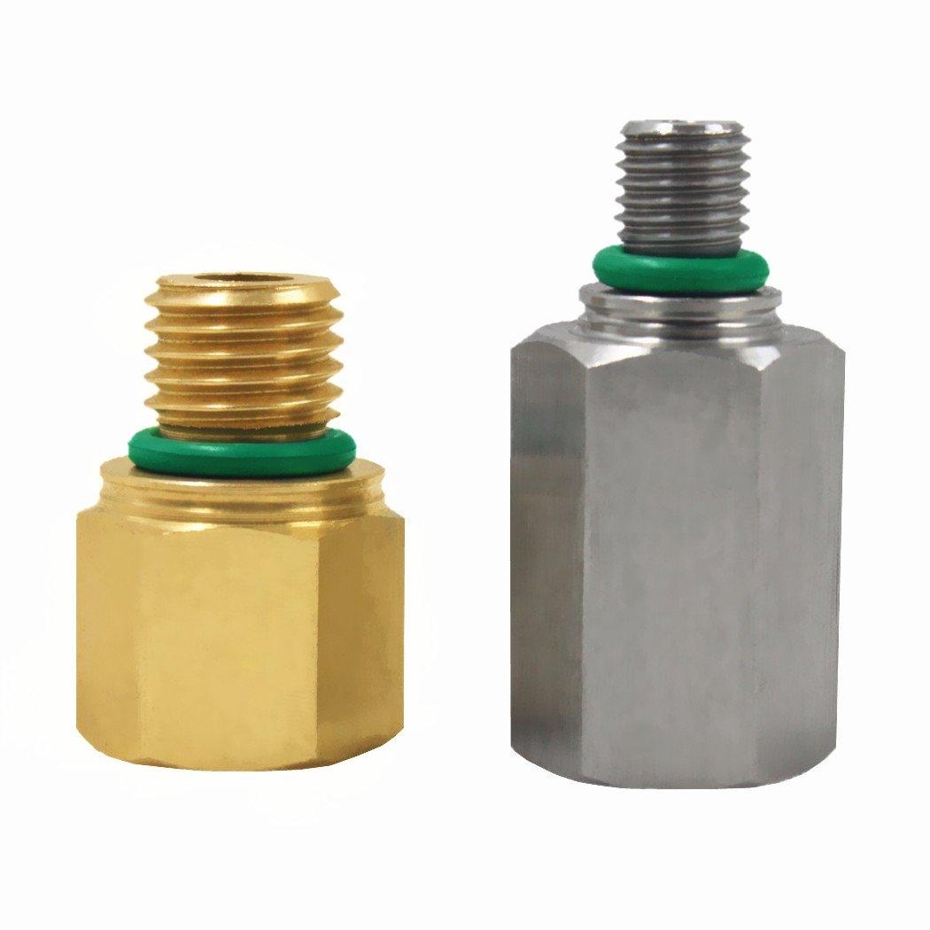 Pressure Oil Rail Adapters Leak Test Kit for Ford 6.0L Powerstroke Diesel