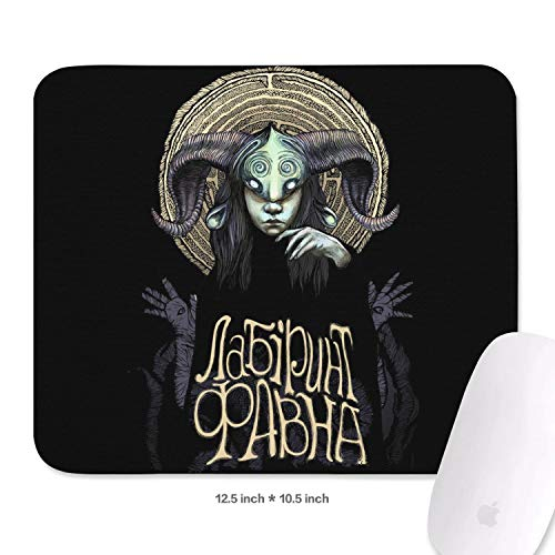 Gaming Mouse Pad Custom Pan's-Labyrinth-(4)- Fashion Non-Slip Rubber Base Rectangle Design Non-Slip Rubber Mouse Pad 10.5x12.5 Inch
