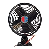 4 HVAC C US (1000641237) Black 12V Auxiliary Defrost Fan