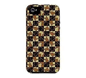 A5 iPhone 5/5s Black Tough Phone Case - Design By Humans