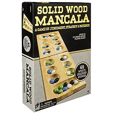 Wood Folding Mancala in Cardboard Sleeve