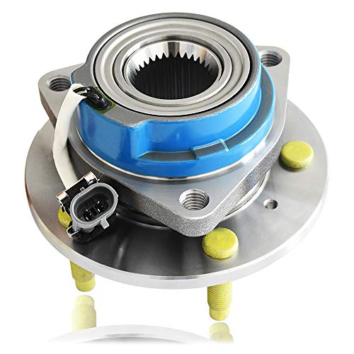 513121 Front/Rear Wheel Hub and Bearing Assembly,Wheel Hub Bearing Compatible for Allure, Aurora, Bonnevile, Century, Impala 5 Lug W/ABS ((Updated) ()