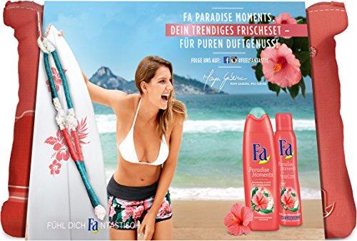 Fa Geschenkset Paradise Moments, 1er Pack (1 x 400 ml)