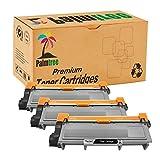 Palmtree Compatible Brother TN660 TN630 Toner Cartridge Use for Brother HL-2340 HL-L2340DW HL-L2380DW HL-L2320D DCP-L2540DW DCP-L2520DW MFC-L2700DW MFC-L2740DW, 3 Pack