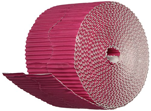 Bordette 0037346 Pacon Scalloped Magenta Border, 2-1/4 in X 50 ()