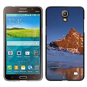 """For Samsung Galaxy Mega 2 , S-type Naturaleza Moon Mountain"""" - Arte & diseño plástico duro Fundas Cover Cubre Hard Case Cover"""