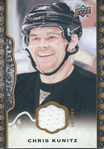 (2014-15 Upper Deck Masterpieces Memorabilia CHRIS KUNITZ Jersey NHL 01836)