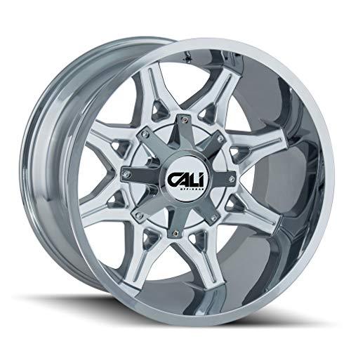 "Cali Off-Road 4 Obnoxious 9107 20x10 8x6.5-19mm Chrome 20"" Inch Wheels Rims -  9107-2176C"