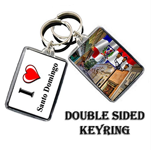 I HEART KINGSTOWN KEYCHAIN KEYRING THE CAPITAL CITY OF SAINT VINCENT AND THE GRENADINES KEYCHAIN