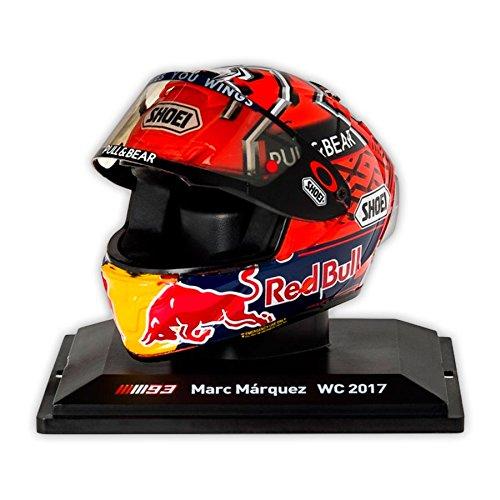 R/éplica 1:5 Casco Marc Marquez Repsol Honda Team 2017