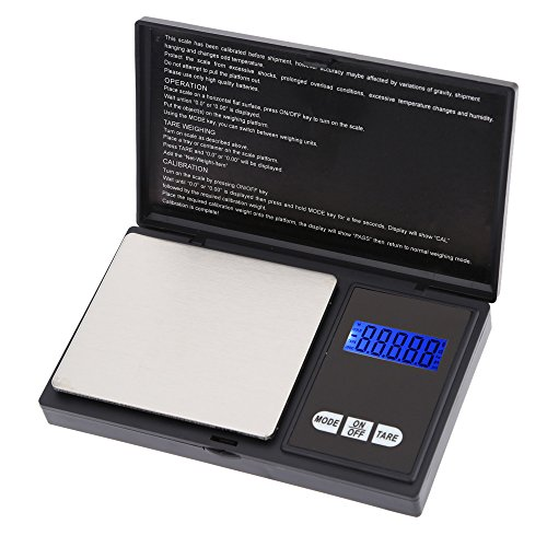 (Pocket Scale, KKmoon High Accuracy Mini Electronic Digital Pocket Scale Jewelry Weighing Balance Portable 650g/0.1g Blue LCD g/gn/oz/ozt/ct/t/dwt)