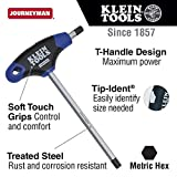 4 mm Hex Key with Journeyman T-Handle, 9-Inch Klein