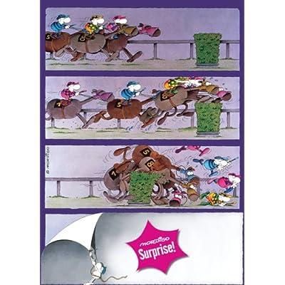 Heye 29173 Bella Sorpresa Puzzle 1000 Pezzi Horses Mordillo