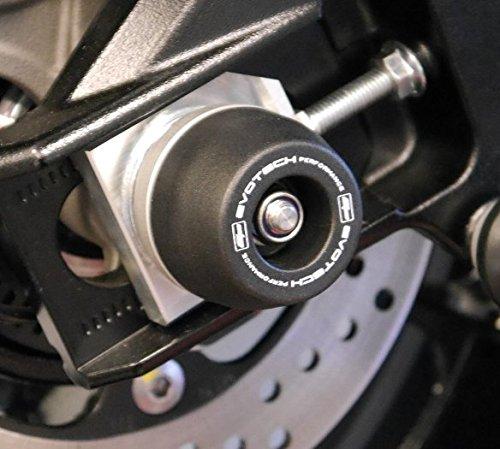 Evotech Performance Suzuki GSXR1000 /& GSX-S1000//F Rear Wheel Spindle Sliders Year 2015 to 2018 PRN12576 Bobbins.
