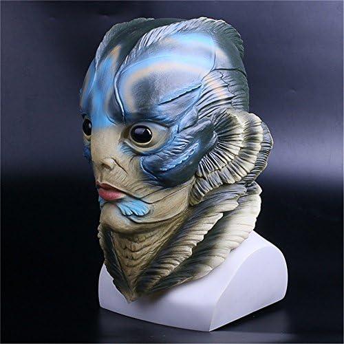 The Shape of Water Mask Cosplay Merman Mermaid Halloween Party Ball Prop Costume