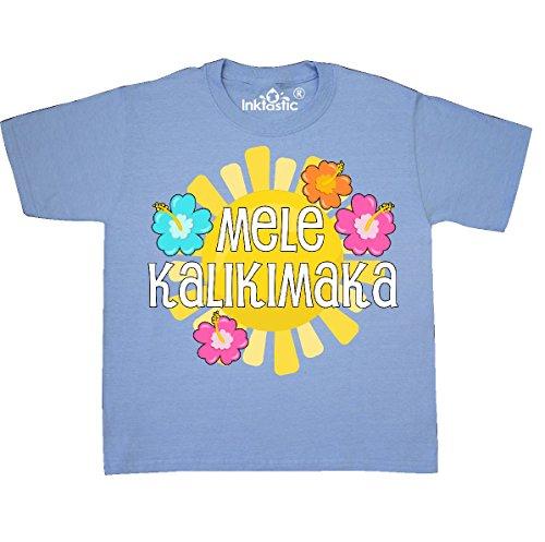 Mela 3 Light (inktastic Mele Kalikimaka Youth T-Shirt Youth X-Small (2-4) Light Blue 2de74)