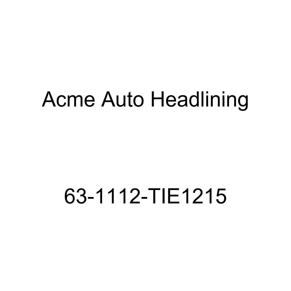 Acme Auto Headlining 63-1112-TIE1215 Turquoise Replacement Headliner Buick Electra 2 Door Hardtop w//Original 6 Bow Headliner