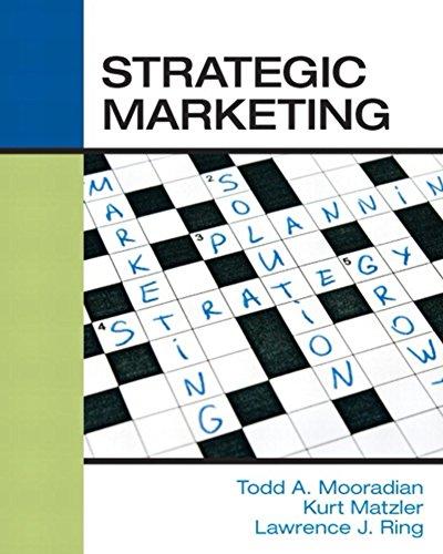 (Strategic Marketing)