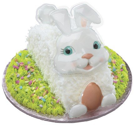 Easter Bunny White Creation Decoplacs ~ Cake Decorating Topper
