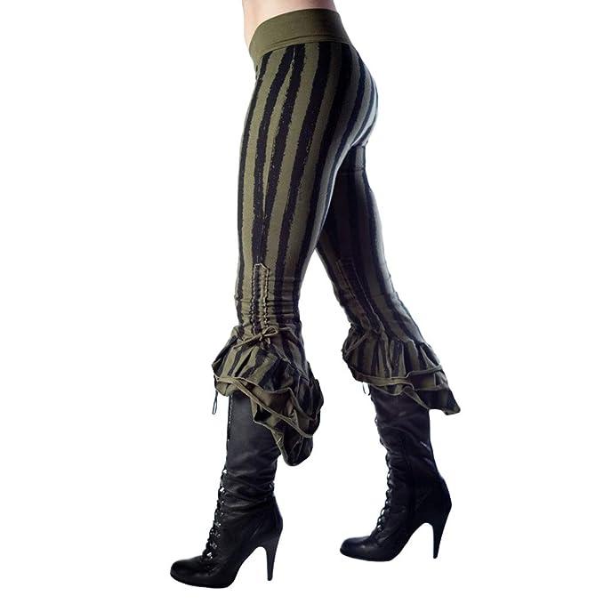 Mxssi Elasticidad Medieval Cosplay Traje Retro Pantalones Cintura ...