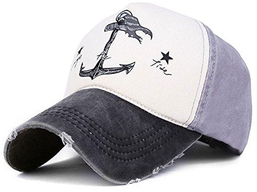 Verano Gorra de béisbol - para hombre negro / gris
