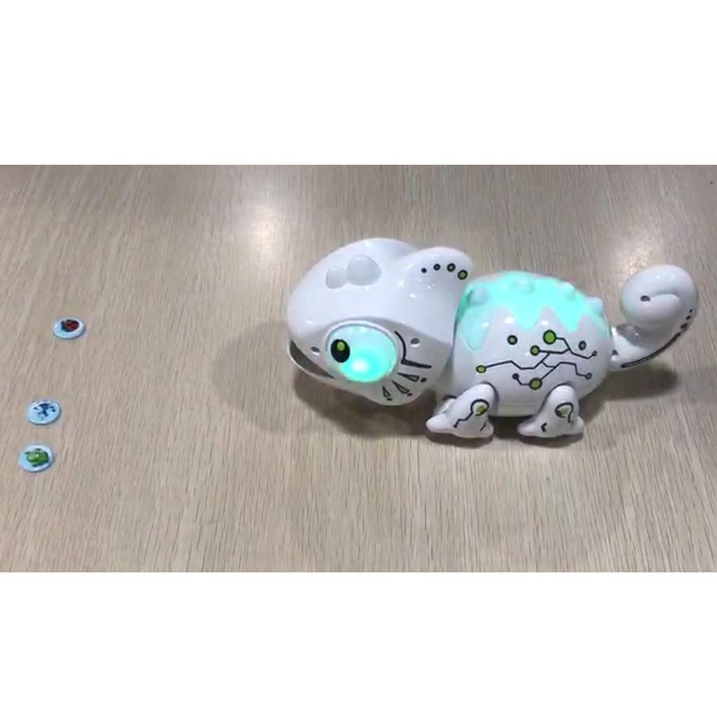 Creazy Smart Chameleon Robotic Can Eat Things Function Cute Toy Electronic Pets by CreazyDog toy (Image #8)