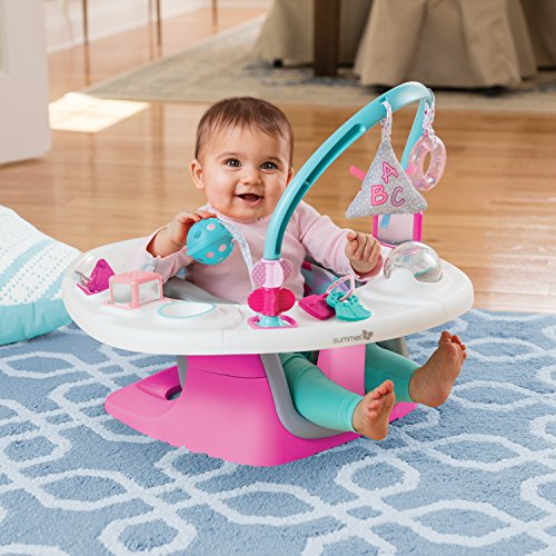 Summer Infant 4-in-1 Deluxe SuperSeat, Pink by Summer Infant (Image #2)