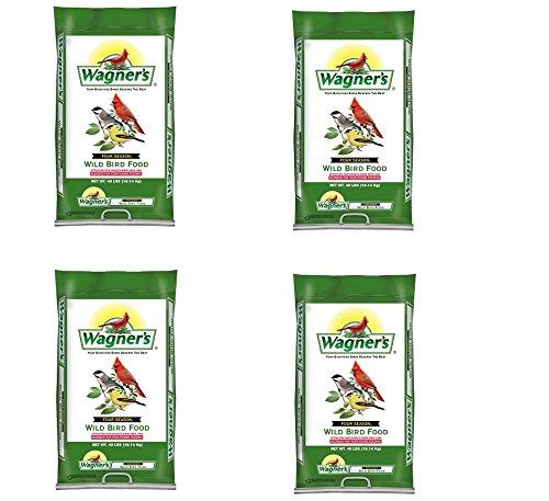 Wagner's 13013 Four Season Wild Bird Food, 40-Pound Bag (4,BAGS)