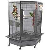A&E CAGE CO Extra Large Corner Cage, Black Larger Image