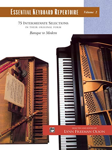 Essential Keyboard Repertoire, Vol 2: 75 Intermediate Selections in their Original form - Baroque to Modern, Comb Bound