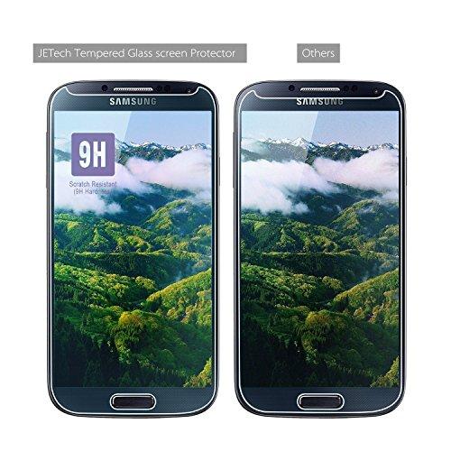 JETech 0820- Protector de Pantalla para Samsung Galaxy S4, Vidrio Templado