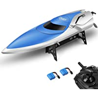 Gizmovine High Speed (20MPH+) Remote Control Boat for Pools and Lakes