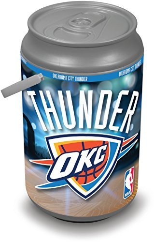 NBA Oklahoma City Thunder Insulated Mega Can Cooler, 5-Gallon by Picnic Time