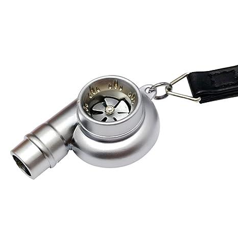 Creative silbato Turbo Llavero Keyholder, Satén cromado