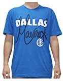 NBA Mens DALLAS MAVERICKS: Athletic Short Sleeve T Shirt L Blue
