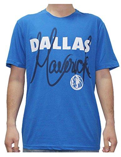 NBA Mens DALLAS MAVERICKS: Athletic Short Sleeve T Shirt L Blue by NBA