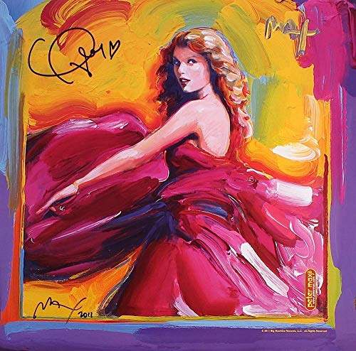 (chronical collection Taylor Swift Abstract Drawing Poster 12 x 12 Inch)