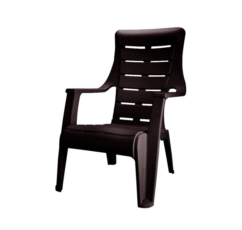 home by Nilkamal Sunday Chair (Brown): Amazon.in: Home & Kitchen