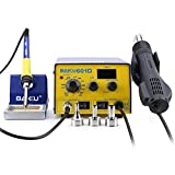 BAKU BK-601D Multi-Function Digital Display Brushless Rework Soldering Station, 110V Hot Air Lead-Free