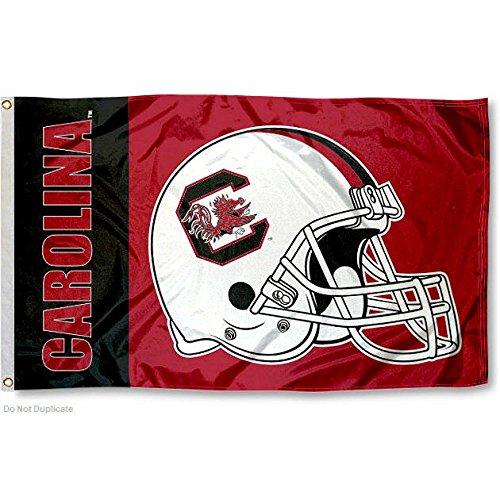 USC Gamecocks Large Football Helmet 3x5 College Flag (Usc Football Gamecock)