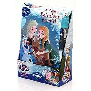 Almohada de libro de cuentos de Frozen.: Amazon.es