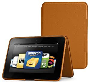 """Amazon Kindle Fire HD 8.9"""" Standing Leather Case, Saddle Tan (will not fit HDX models)"""