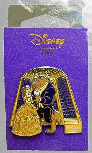 Beauty Pin (Beauty and the Beast Disney Chase Visa Rewards Exclusive Slider Movie Pin 2017)