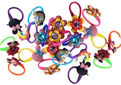 AVIRGO Random Colorful Bag Tags Decoration Charms Set of 40 pcs ()