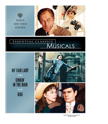 Essential Classics: Musicals (My Fair Lady / Singin' in the Rain / Gigi) by Warner Home Video